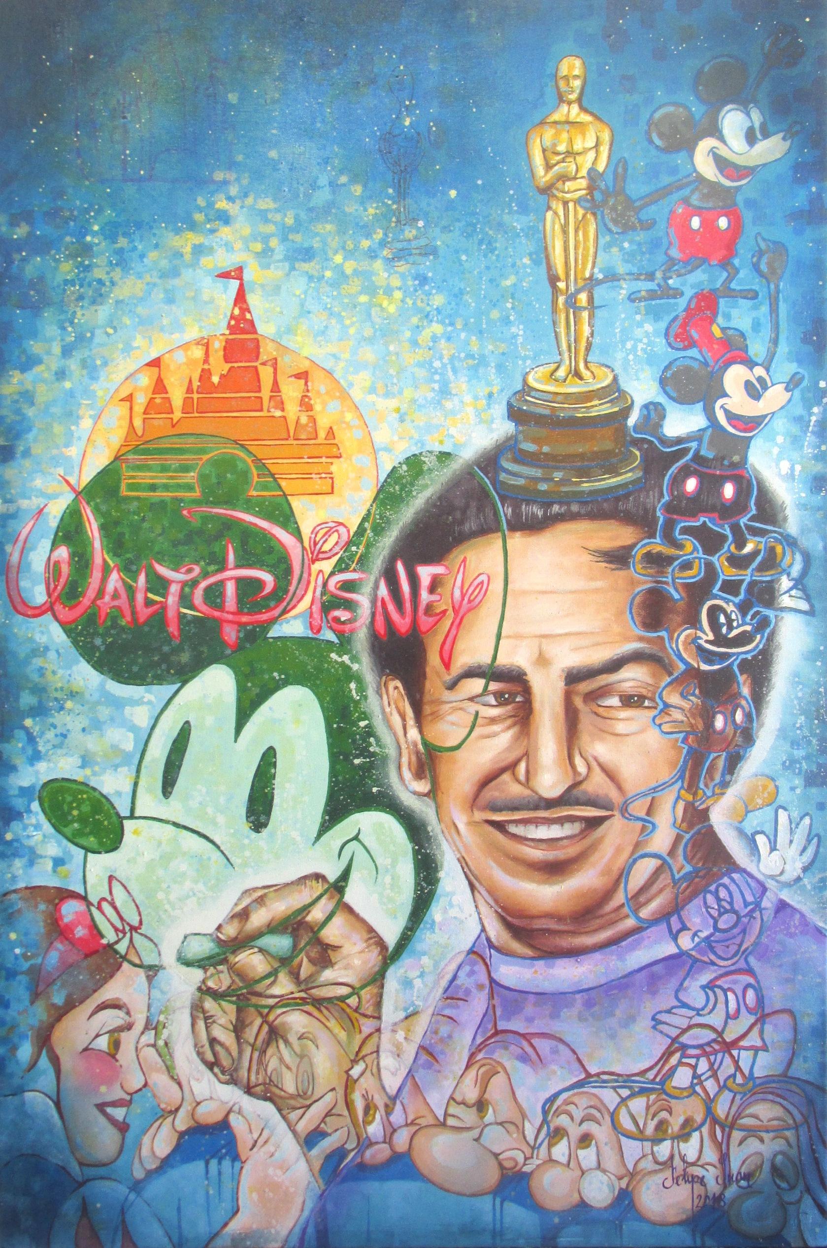 8. Walt Disney
