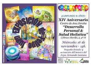 Participación en el XIV Aniversario del Centro de Ana Jaraba.