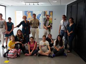 """Exposición """"La creatividad artística de nuestro alumnado"""" Recreaciones del alumnado de obr"""