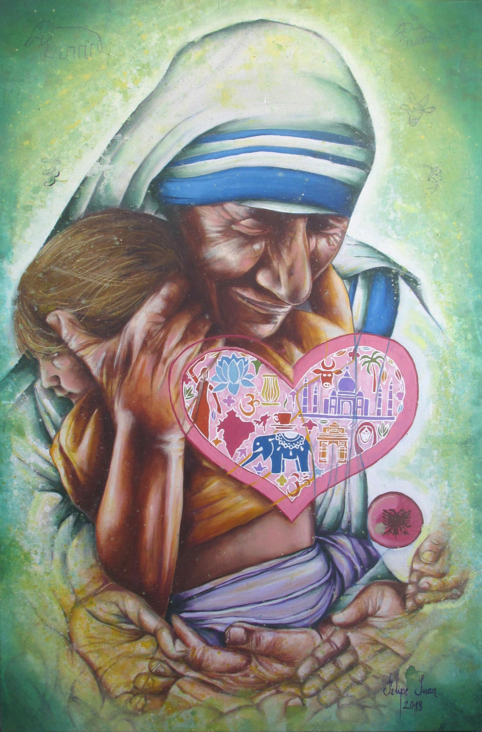 5. Madre Teresa de Calcuta