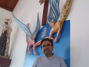 Encargo de dos ángeles para la Iglesia del Zumacal.