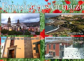 Exposiciones en marzo en Gran Canaria y La Palma