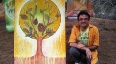 El pintor grancanario Felipe Juan finaliza su ciclo de exposiciones por los veintiún municipios de l