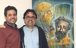 José Sosa Serván y yo.