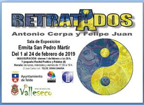 """Proyecto Multidisciplinar: """"RETRATADOS"""" Antonio Cerpa y Felipe Juan · Serie 2018 · 1 al 24"""