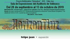"""Proyecto Multidisciplinar: """"HorizontLuz"""" · Serie 2019 · Sala Exposiciones Auditorio de Val"""