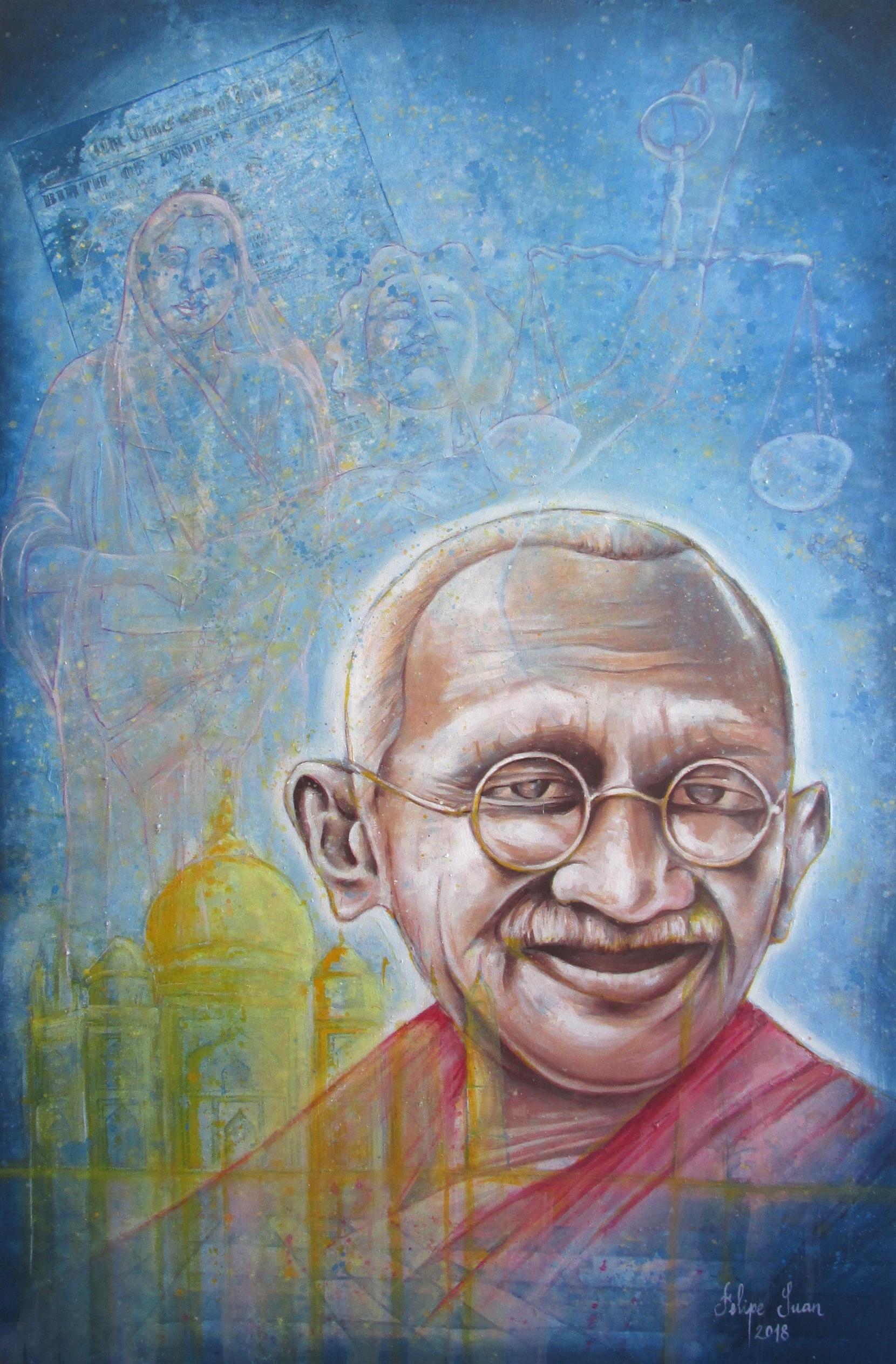 1. Mahatma Gandhi