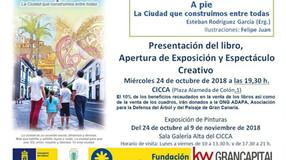 """Proyecto """"A PIE"""" Junto a Esteban Rodríguez García (Erg.) Libro dedicado a Las Palmas de Gr"""