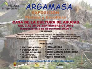 Exposición Colectivo Artistas Aruquenses en Arucas (septiembre de 2016)