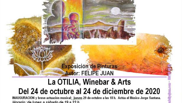 Exposición en La Otilia · 24 de octubre al 24 de diciembre de 2020