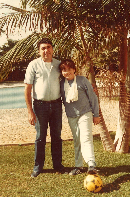 Junto a mi padre en Tenerife