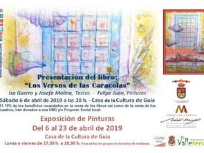 """Exposición y nuevo libro dedicado a un municipio: GUÍA · """"Los Versos de Las Caracolas"""" ·"""