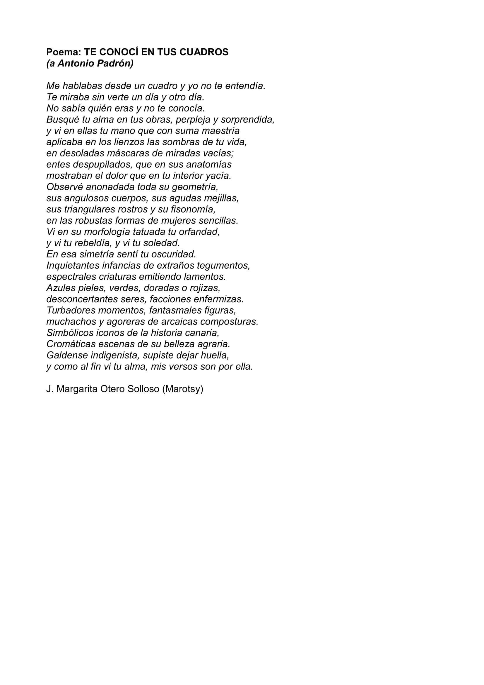 Poema Serie RetrataDOS