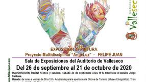 """Proyecto Multidisciplinar: """"AngeLuz"""" · Serie 2020· Sala de Exposiciones del Auditorio de V"""