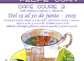"Exposición ""MOARTE"" en Café Gourié 3 en Arucas (13 al 30 de junio de 2015)"