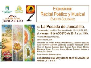 Exposición en la Apertura de La Posada de Juncalillo · Agosto 2017