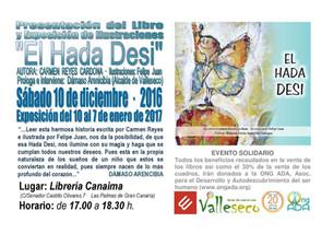 """Presentación y EXPOSICIÓN de ilustraciones del Álbum Infantil: """"El Hada Desi"""""""