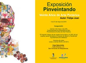 """Nueva Exposición y Libro: """"Pinveintando"""" en San Bartolomé de Tirajana · 4 al 21 de mayo."""