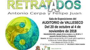 """Proyecto Multidisciplinar: """"RETRATADOS"""" Antonio Cerpa y Felipe Juan · Serie 2018 · 20 de o"""