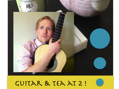 Solomon Guitar Studio's instructor Devin Kosloff will be performing at Casa Della Zisa- Sunday a