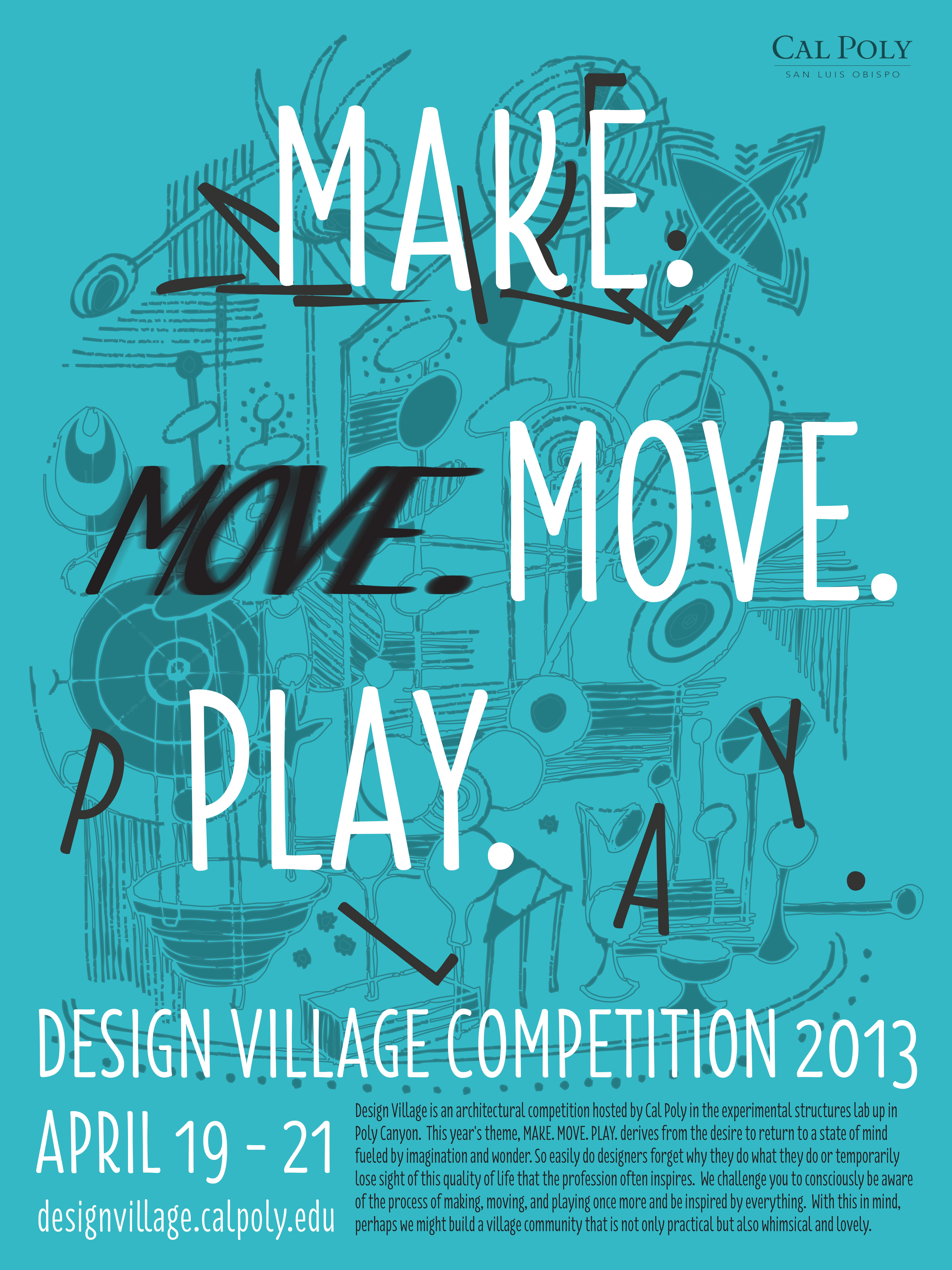 2013 Make Move Play Poster
