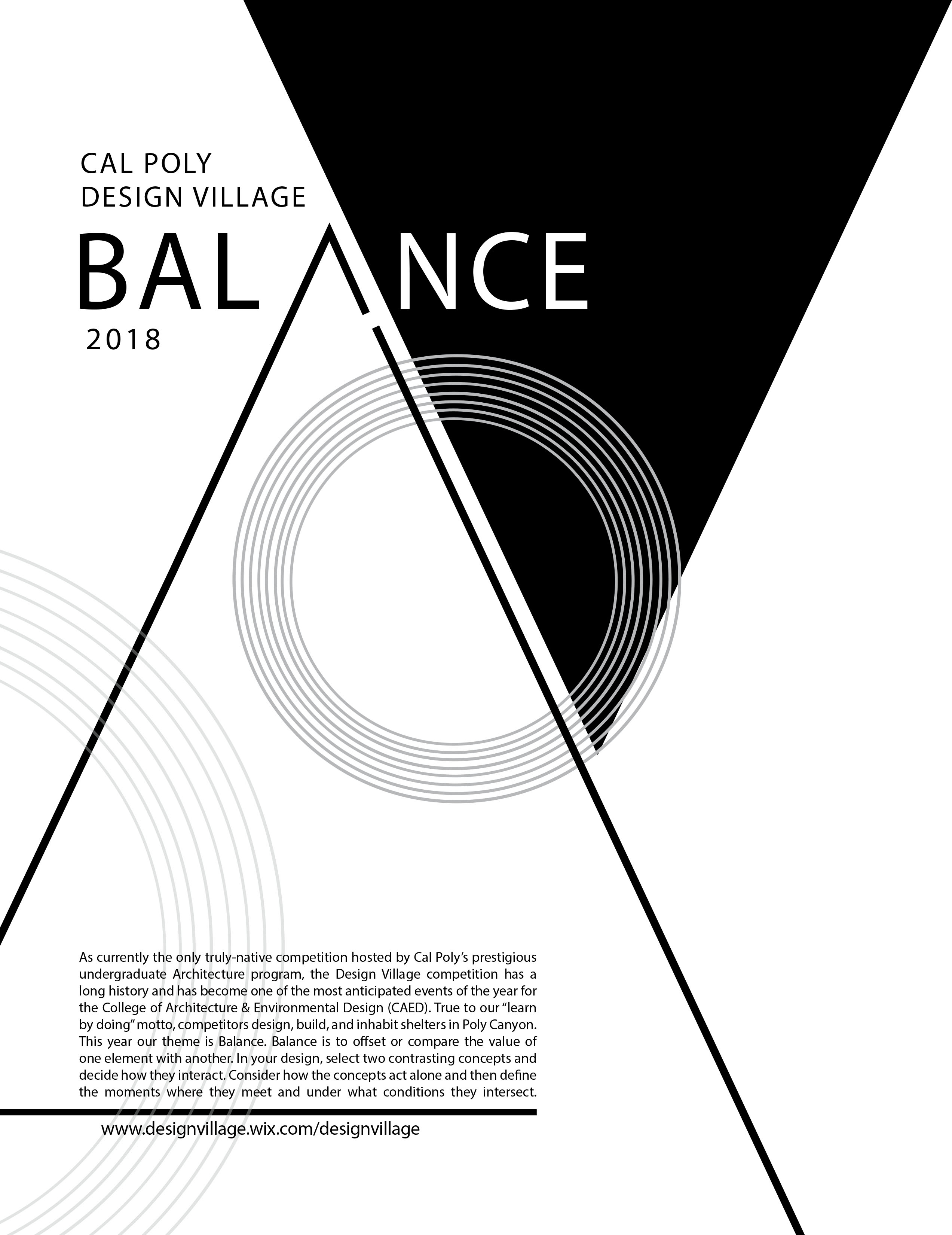 design village poster 2018