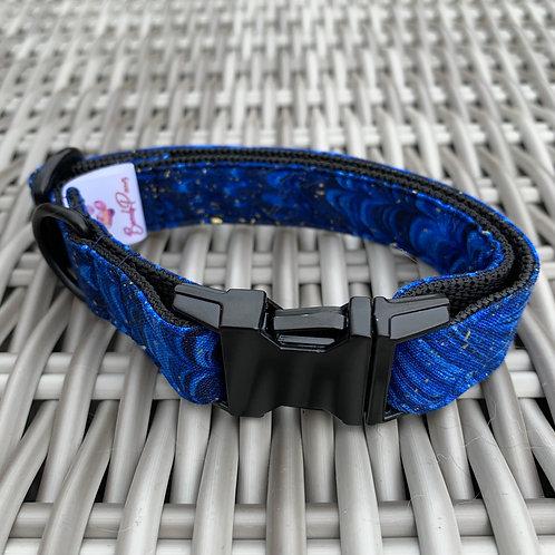 Hals- & leiband (set) Blue - maat S