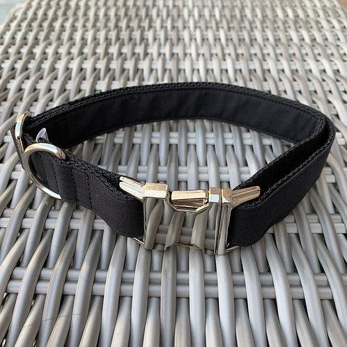 Halsband Black Metal (maat L)