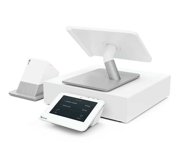 Clover 4 piece POS - Vibrant Payments.pn