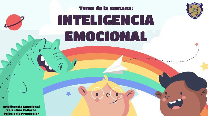 Esta semana trabajaremos con la psicologa Valentina Collazos, en el tema de inteligencia emocional. En el Classroom podrás encontrar las actividades propuestas.