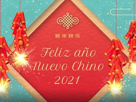 Nuestro tercer idioma es el Mandarín. Celebramos el año nuevo chino