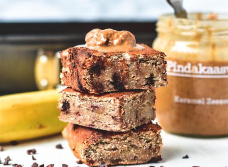 Vegan Bananenbrood met Chocolade | Glutenvrij & Lactosevrij