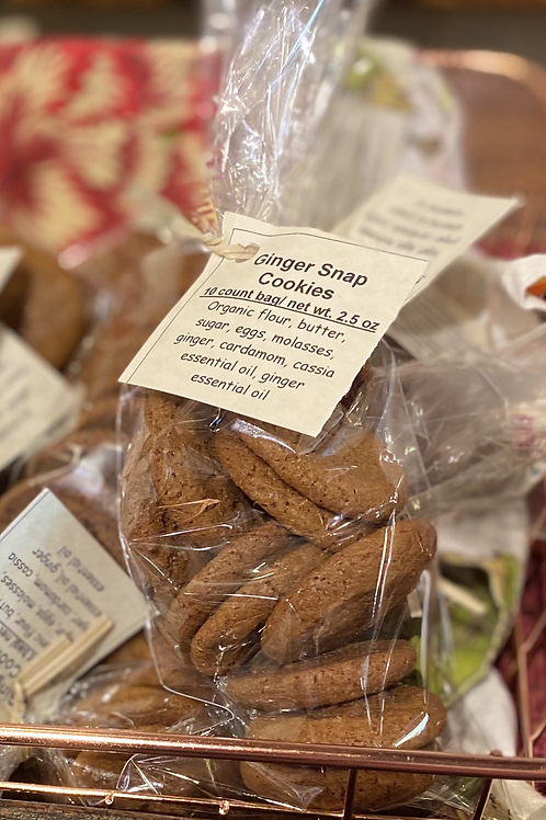 Bagged Ginger Snap Cookies