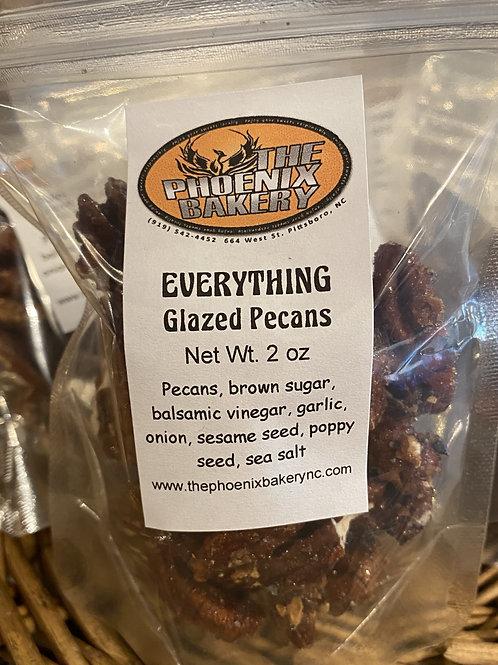 Everything Glazed Pecans
