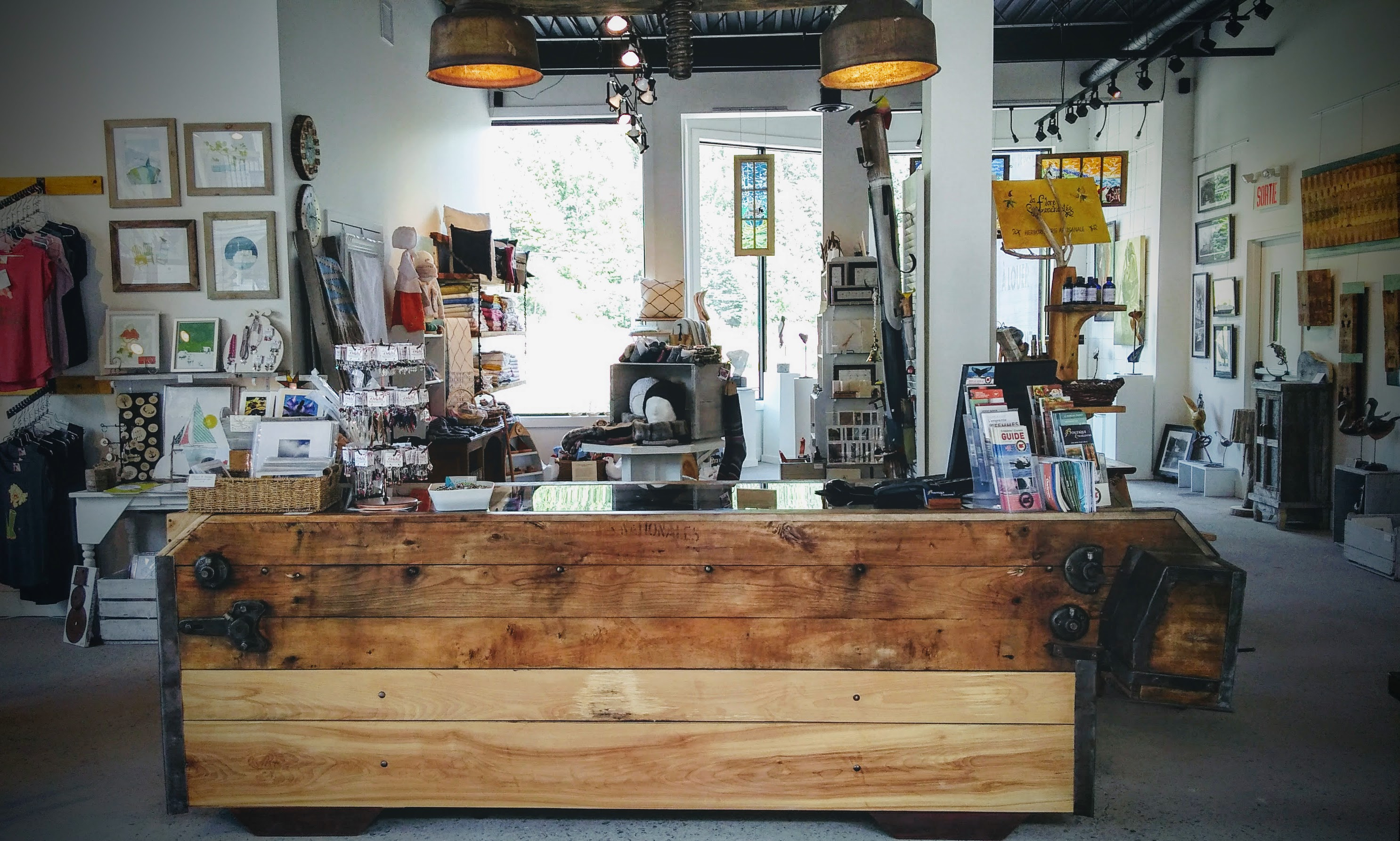 Boutique / Galerie