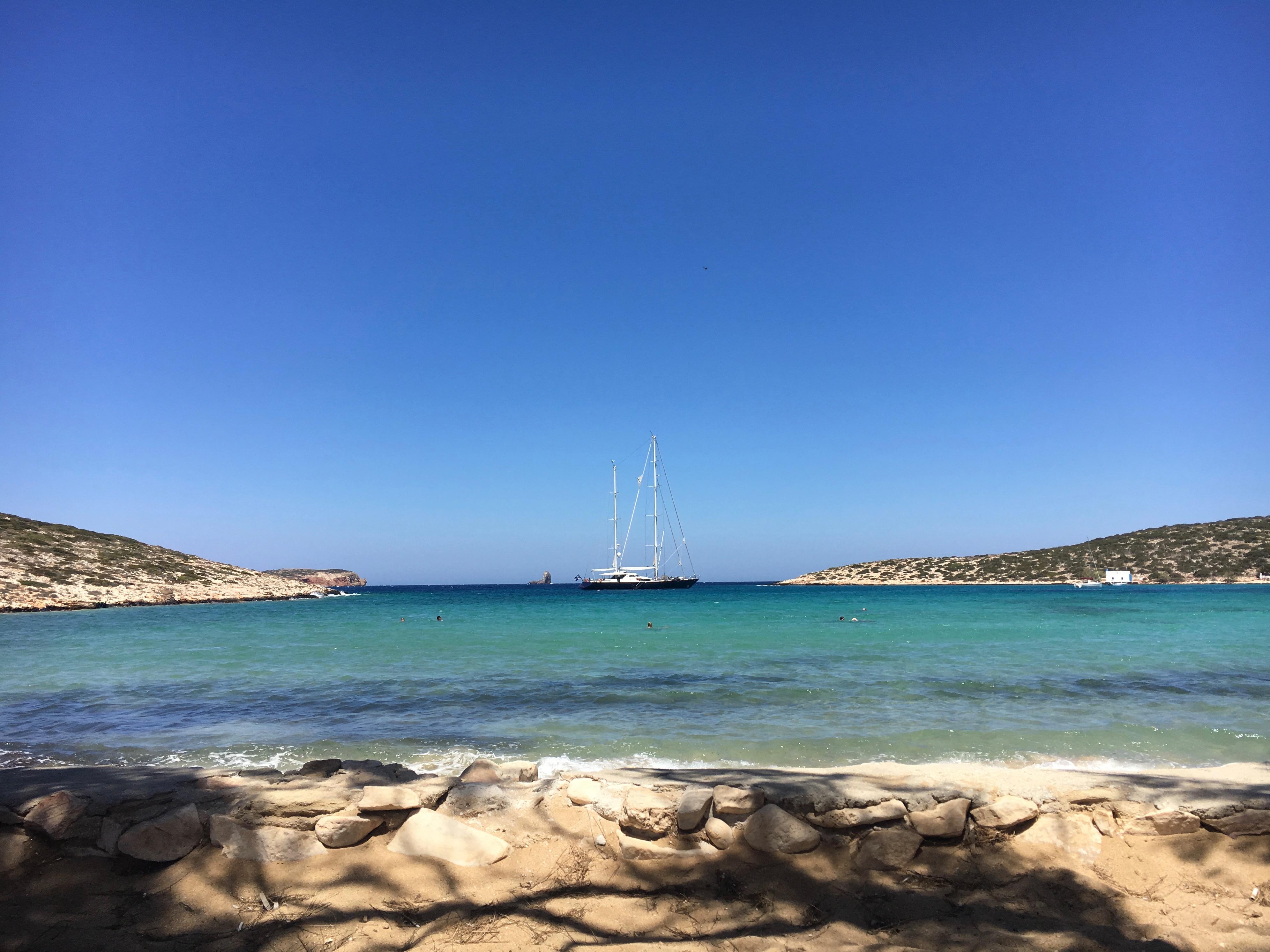Agia Irini Beach, Paros, Grèce