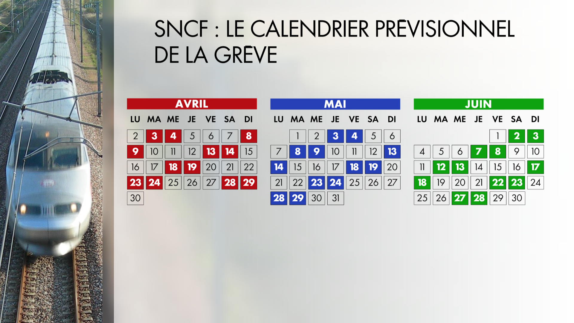 Calendrier Greve Cheminots.Point Sur Le Mouvement De Greve