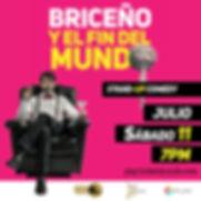 BRICENO Y EL FIN playticketmundo post.jp
