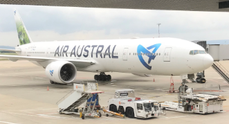 Nos collaborateurs en visite chez Air Austral