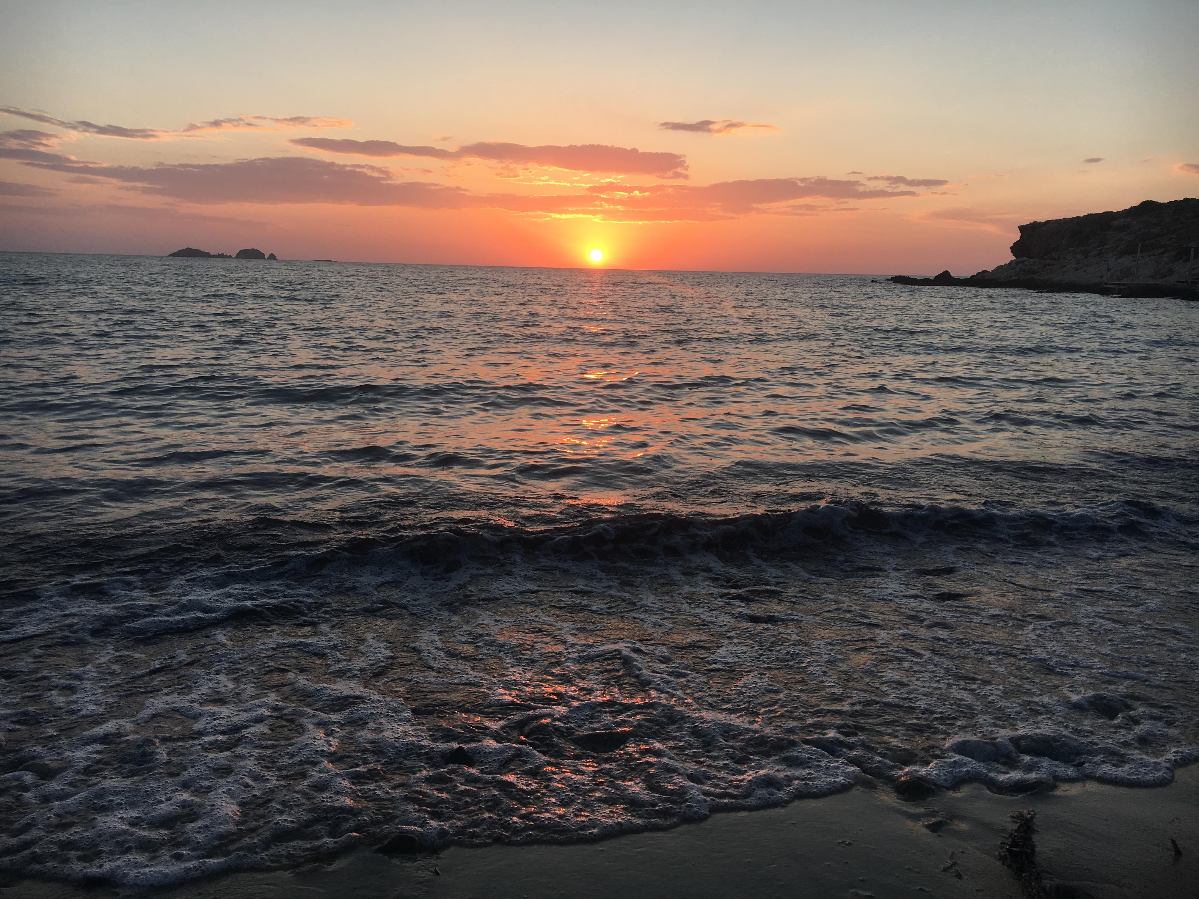 Plage Paros, Îles Cyclades, Grèce