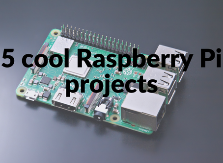 5 cool things you can do with a Raspberry Pi | Raspberry Pi projects