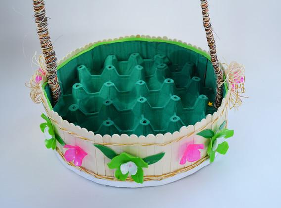 Canasta para huevos