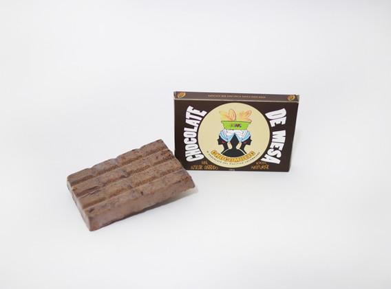 Barra de chocolate de mesa