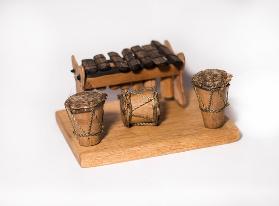Mini Marimba decorativa