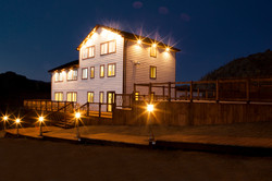 Clubhouse @ night