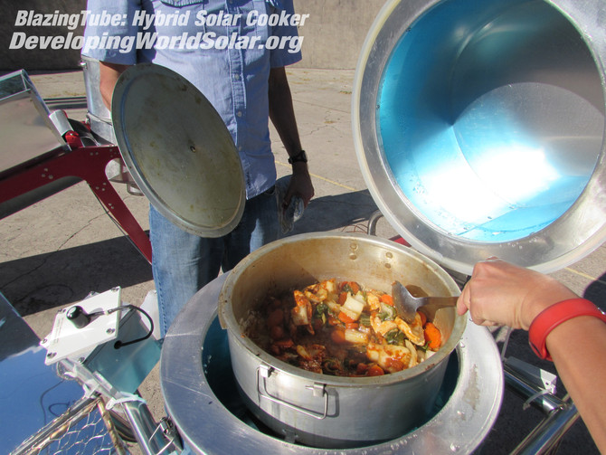 Bill Gates foundation taking a look in solar cooking