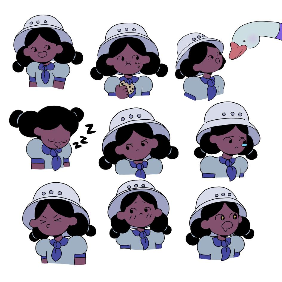 Lore Expression Sheet