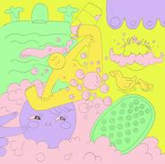 bubble bath body