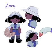 Starcatcher Lora Character Design
