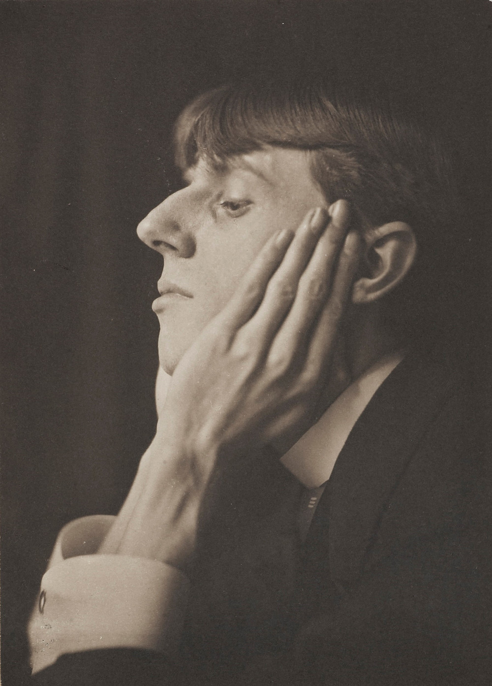Frederick Evans 1853-1943 Portrait of Aubrey Beardsley 1893 - Wilson Centre for Photography